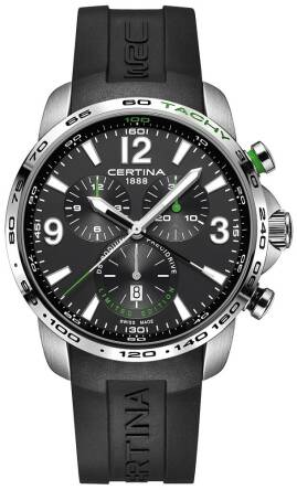 CERTINA C001.647.17.057.10, Męski, DS Podium Big Size Chrono Precidrive WRC Rally Poland 2016 Limited Edition